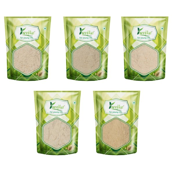 YUVIKA Ashwagandha Powder - Musli Safed Powder - Beej Kaunch Kala Powder - Gokhru Bada Powder - Sitawar Pili Powder