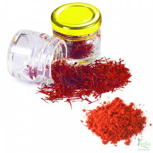 YUVIKA Kesar Powder - Crocus Sativus - Saffron Powder Pure and Authentic