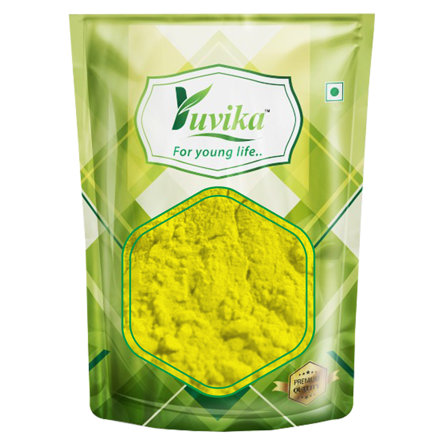 YUVIKA Herbal Gulal - Holi Ke Rang -Herbal Natural Colors Red - Green - Pink & Yellow