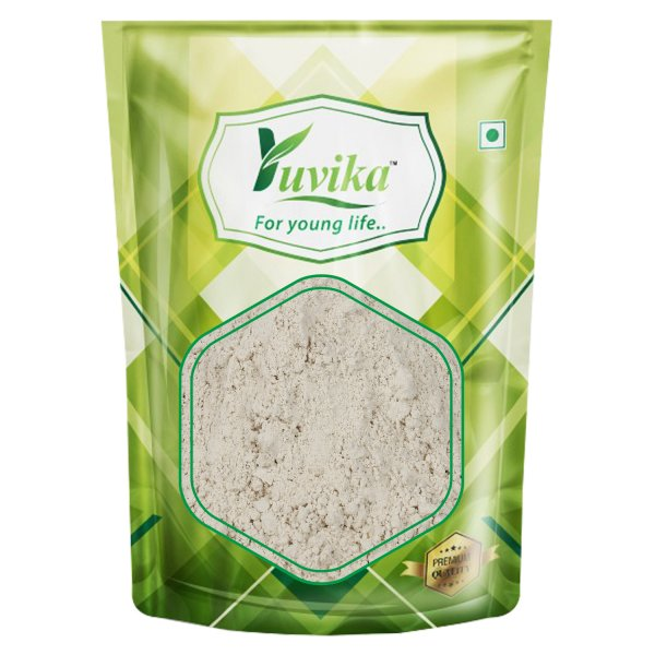 YUVIKA Beej Kaunch Safed Powder - Kaunch Seeds White Powder (Without Peel) - Mucuna Pruriens White