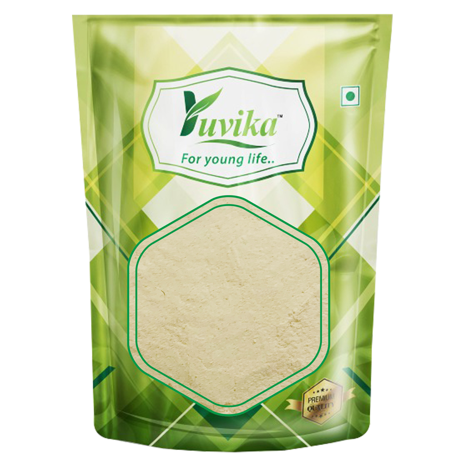 YUVIKA Green Coffee Beans Powder Decaffeinated & Unroasted Arabica Coffee Powder