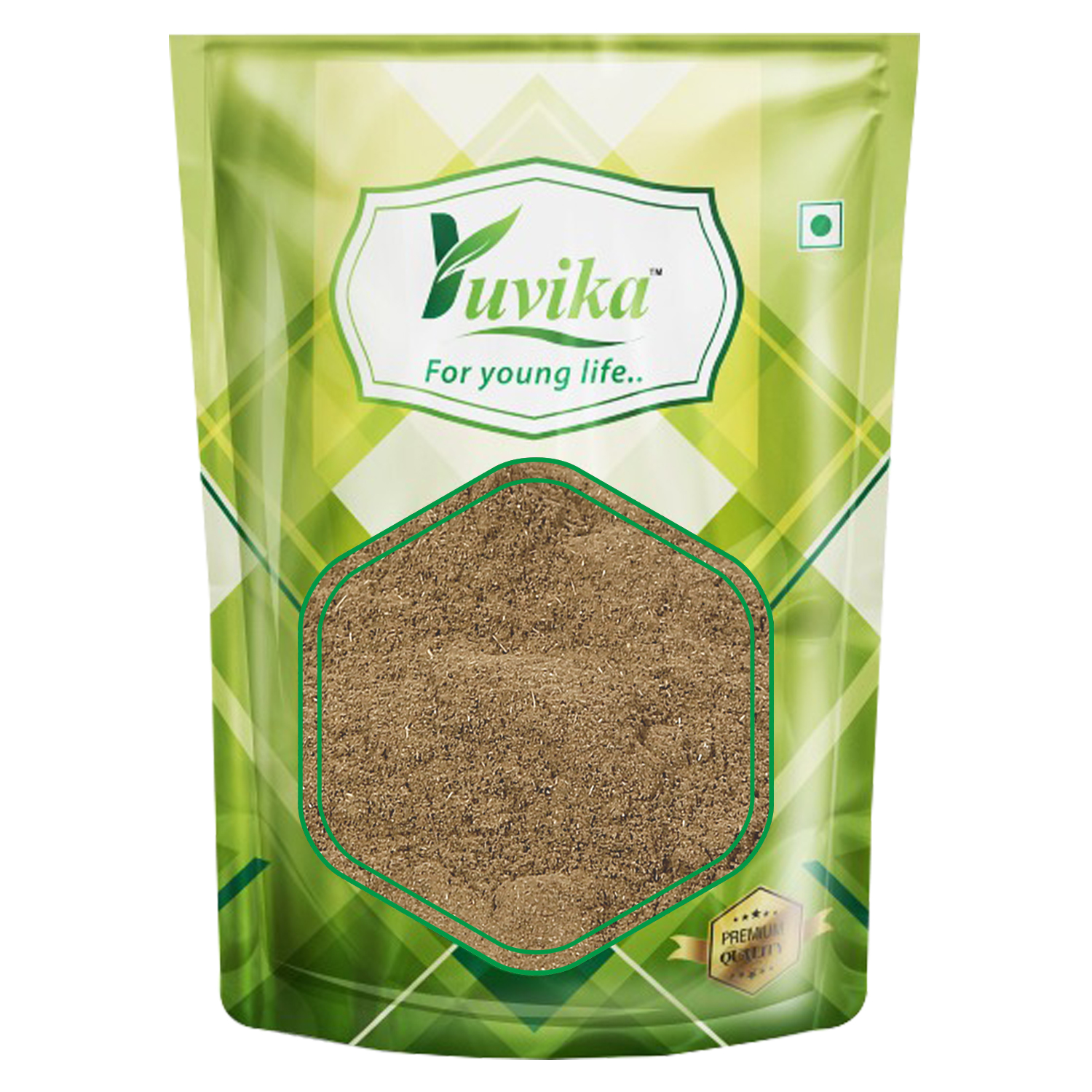 YUVIKA Tulsi Patta Powder - Ocimum Sanctum - Tulsi Leaves Powder
